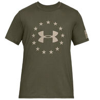 Under Armour Men's UA Freedom Logo Short-Sleeve T-Shirt