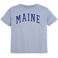 Lakeshirts Youth Blue 84 Maine Short-Sleeve T-Shirt