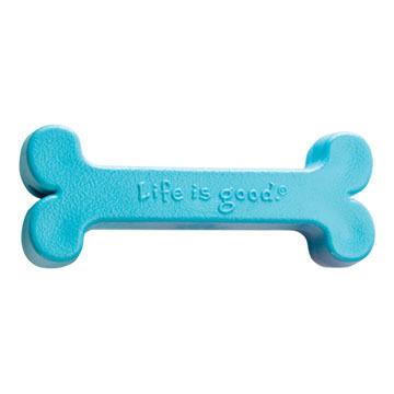 Life is Good Large Funny Bone Dog Toy