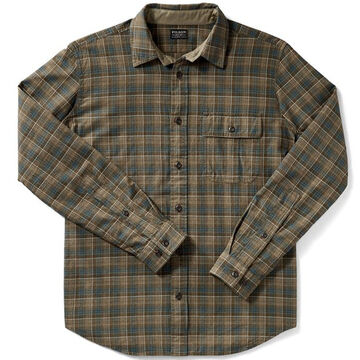 Filson Mens Rustic Oxford Long-Sleeve Shirt