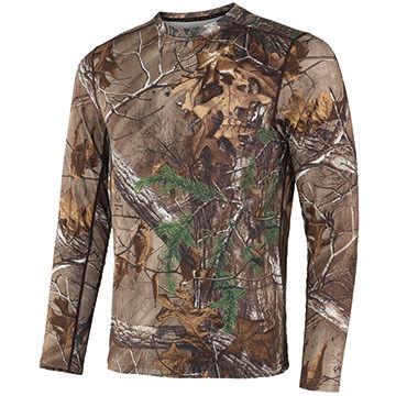 Terramar Mens Avenger Performance Long-Sleeve T-Shirt