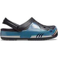 Crocs Boys' Fun Lab Shark Band Clog