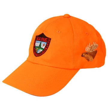 Maine Inland Fisheries and Wildlife Embroidered Blaze Cap - Moose
