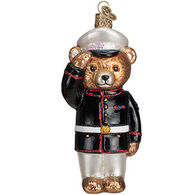 Old World Christmas Marine Bear Ornament