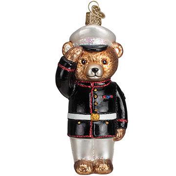 Old World Christmas Marine Bear Ornament