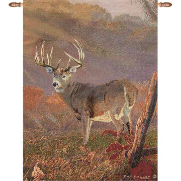 Manual Woodworkers & Weavers Autumn Splendor Whitetail Wall Hanging