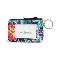 Vera Bradley Signature Cotton Zip ID Case