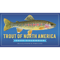 Trout of North America 2020 Wall Calendar by Joseph R. Tomelleri
