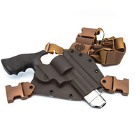 GunfightersINC Standard Kenai Chest Holster - Right Hand