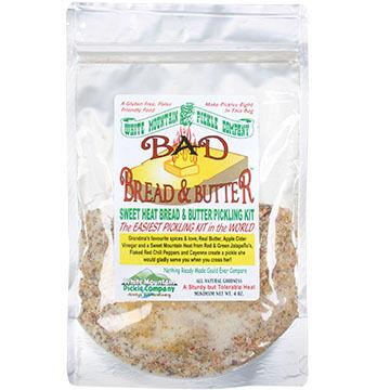 White Mountain Pickle Co. Bad Bread & Butter Pickling Kit