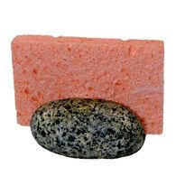 Funky Rock Designs Beach Stone Sponge Holder