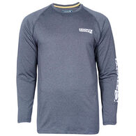 Hook & Tackle Men's Parallel UV Sun Protection Fishing Long-Sleeve T-Shirt