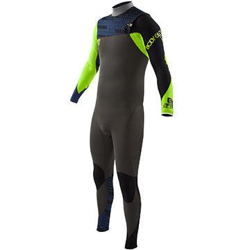Body Glove Men's 4/3mm CT Slant Zip Fullsuit Wetsuit