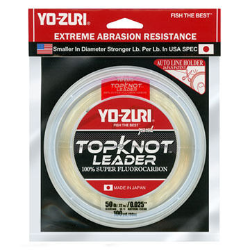 Yo-Zuri TopKnot Fluorocarbon Saltwater Leader - 30 Yards