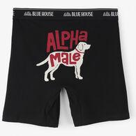 Hatley Little Blue House Men's Alpha Male Boxer Short
