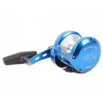 Okuma MK-80WII-SEa Blue Makaira 2-Speed Lever Drag Reel