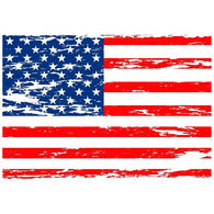 Sticker Cabana American Flag Sticker