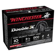 "Winchester Double X 10 GA 3-1/2"" 2 oz. #4 Shotshell Ammo (10)"