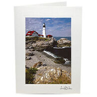 Lori A. Davis Photo Card - Portland Head Light
