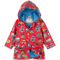 Hatley Boys' Monster Trucks Classic Rain Jacket