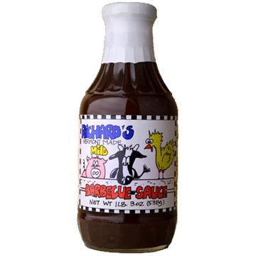 Richard's Mild Barbeque Sauce, 19 oz.