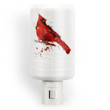 Big Sky Carvers Redhead Cardinal Nightlight