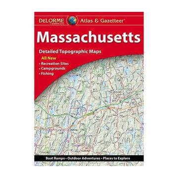 DeLorme Massachusetts Atlas & Gazetteer