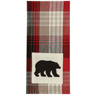 Park Designs Champlain Bear Applique Dish Towel