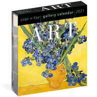Art 2021 Page-A-Day Gallery Calendar by Workman Publishing