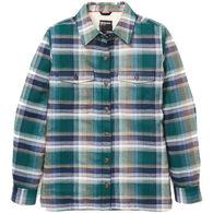 Marmot Women's Ridgefield Sherpa-Lined Long-Sleeve Flannel Shirt