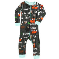 Lazy One Infant Boy's Born To Be Wild Union Suit
