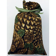 Moosehead Balsam Fir Black Pine Cone Bag