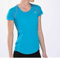 New Balance Women's Impact Short-Sleeve Shirt