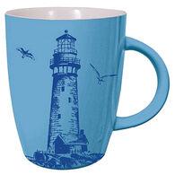 Cape Shore Maine Lighthouse Coastal Color Mug