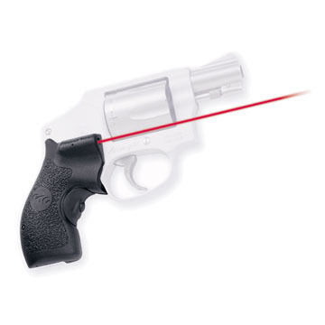 Crimson Trace LG-105 Smith & Wesson J-Frame Round Butt Lasergrips Laser Sight