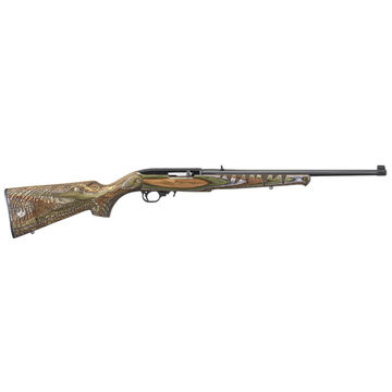 Ruger 10/22 Sporter Engraved Green Mountain Gator 22 LR 18.5 10-Round Rifle