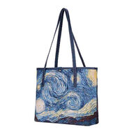 Signare Women's Van Gogh Starry Night College Tote Bag