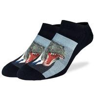 Good Luck Sock Men's Mr. T-Rex Ankle Sock