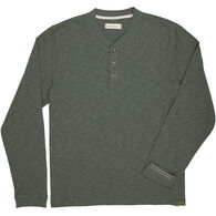 Dakota Grizzly Men's Blake Heather Henley Long-Sleeve Shirt