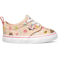 Vans Toddler Girls' Atwood Z Sweet Treat Canvas Slip-On Shoe