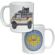 Ski The East Van Life Coffee Mug