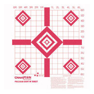 Champion Redfield Style Precision Sight-In Target - 10 Pk.