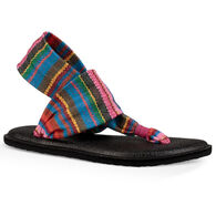 Sanuk Kids' Yoga Sling Burst Print Sandal