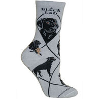 Wheel House Designs Black Lab Sock