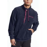 Champion Men's Urban Explorer Fleece 1/4 Zip Script Logo Sweatshirt