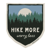 Life is Good Hike More Decal