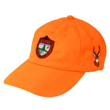 Maine Inland Fisheries and Wildlife Embroidered Blaze Cap - Deer