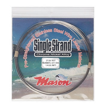 Mason Single Strand Coil Leader Wire