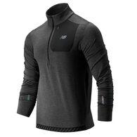 New Balance Men's NB Heat Quarter-Zip Long-Sleeve Pullover
