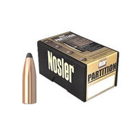 "Nosler Partition 338 Cal. 210 Grain .338"" Spitzer Point Rifle Bullet (50)"